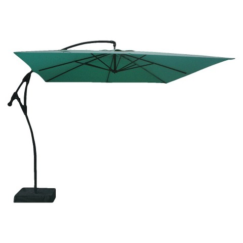 Threshold™ Square Offset Patio Umbrella and Base - 9'