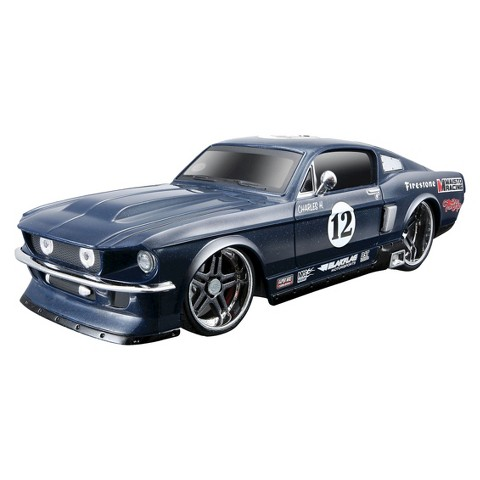 Maisto Tech Radio Control 1967 Ford Mustang Racing Car