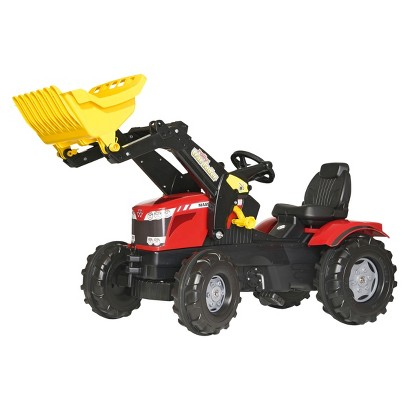 Kettler MASSEY FERGUSON FarmTrac 8650 w/ Front Loader Ride On Toy