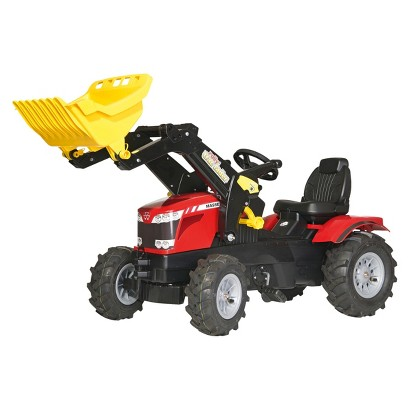 Kettler MASSEY FERGUSON FarmTrac 8650 w/Front Loader & Air Tires Ride On Toy