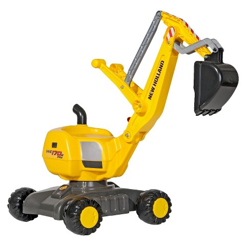 Kettler NEW HOLLAND Digger Ride-On Toy