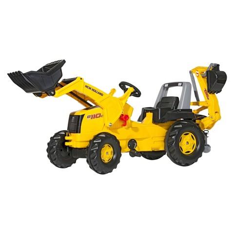 Kettler NEW HOLLAND Backhoe Loader Tractor Ride On Toy