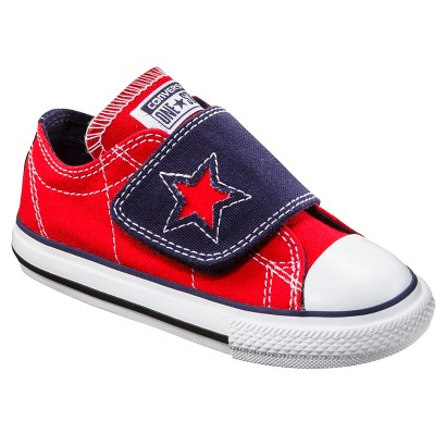 Toddler Boy's Converse® One Star®  One Flap Sneaker - Red