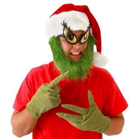 Dr. Seuss Grinch Gloves Green