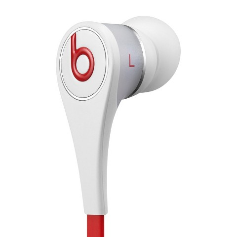 Beats Tour In-Ear Headphones - White/Red