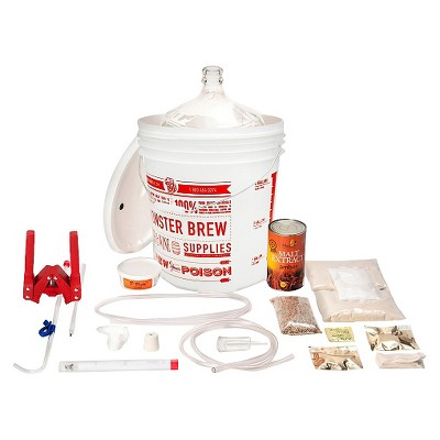 Deluxe Homebrew Kit with Oktoberfest and American Wheat Beer Recipes