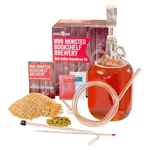 Mini Monster Homebrew Kit with Amber Beer Recipe
