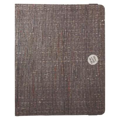 BluDot Newsprint iPad Case - Brown