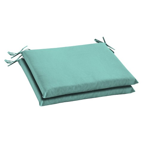 Room Essentials™ 2-Piece Seat Cushion Set - Turquoise
