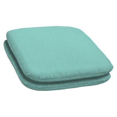 Room Essentials™ 2-Piece Seat Pad Set - Turquoise