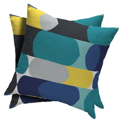 Room Essentials™ 2-Piece Square Toss Pillow -  Clown