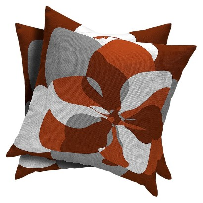 Room Essentials™ 2-Piece Square Toss Pillow -  Ripe Red