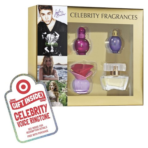 Women's Celebrity 4 Piece Replica Coffret Plus Free Celebrity Voice Ringtone