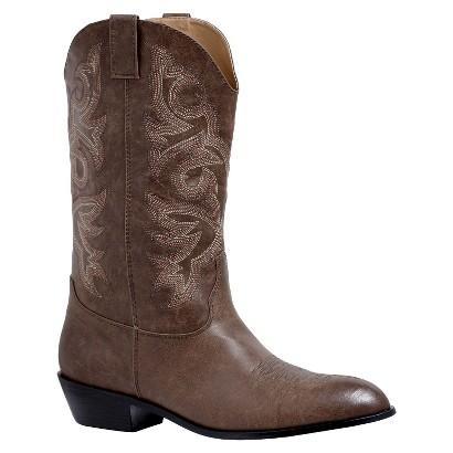 Men's Cowboy Boots - Brown