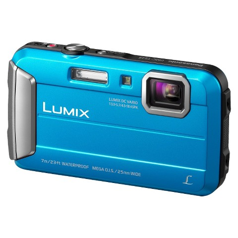 Panasonic DMC-TS25A 16.1MP Digital Camera with 4x Optical Zoom - Blue