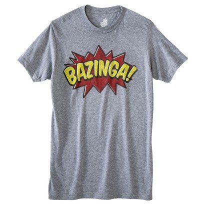 Men's Big Bang Theory Bazinga T-Shirt