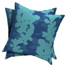 Room Essentials™ 2-Piece Square Toss Pillow -  Baby Turquoise