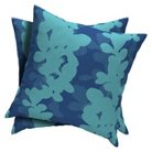 2-Piece Square Toss Pillow - Baby Turquoise  - Room Essentials™
