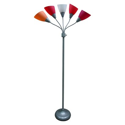 Room Essentials® 5-Head Floor Lamp product details page