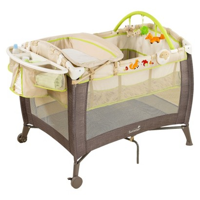 Summer Infant Grow with Me Playard and Changer - Fox and Friends
