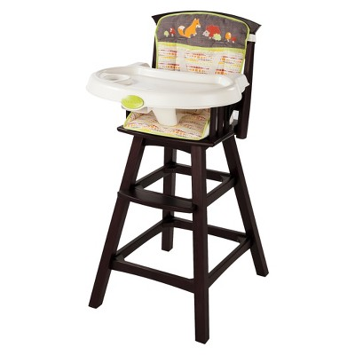 Summer Infant® Classic Comfort Wood Highchair - Fox and Friends
