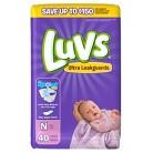 Luvs Baby Diapers Jumbo Pack Size Newborn (40 Count)