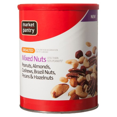 Market Pantry® Unsalted Mixed Nuts 17.75 oz