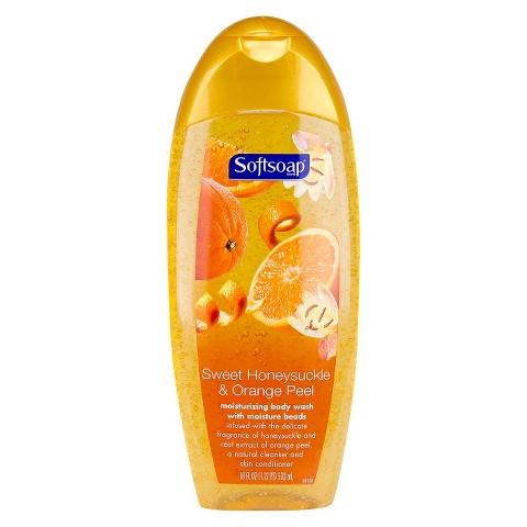 Softsoap Body Wash Honeysuckle & Orange 18oz