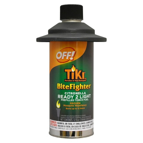 OFF!® BiteFighter® Citronella Pre-filled Torch Fuel