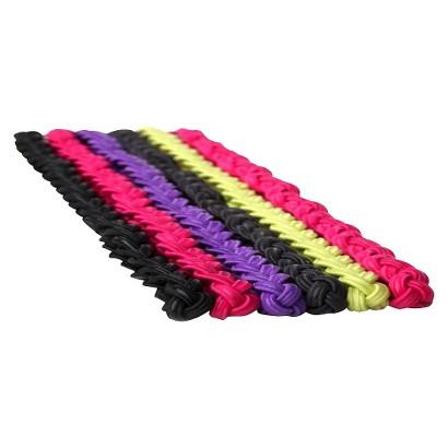 Goody® Athletique Slide-Proof Braid Multicolored Headbands - 6 Count
