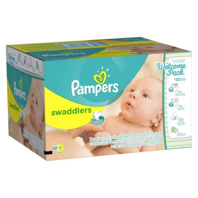 Pampers Swaddlers New Baby Welcome Pack