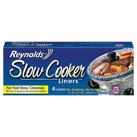 Reynolds Slow Cooker Liners 4 ct