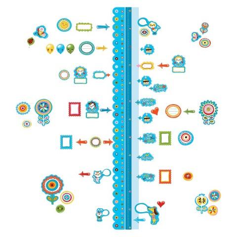 Wallies® Dry Erase Sticker Growth Chart