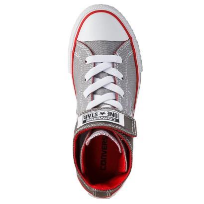 Boy's Converse® One Star® High Top Sneaker - Gray