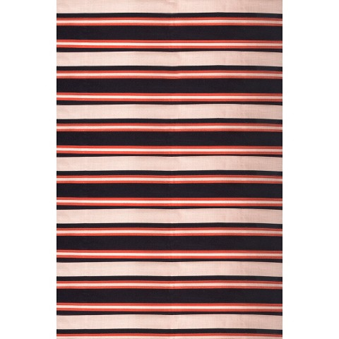 Threshold™ Rectangular Patio Rug - Navy Stripe