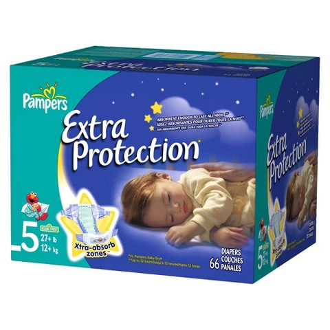 Pampers Extra Protection Diapers Super Pack (Select Size)