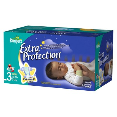 Pampers Extra Protection Diapers Super Pack Size 3 (92 Count)