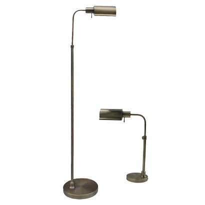 Threshold™ Banker Lamps - Brass