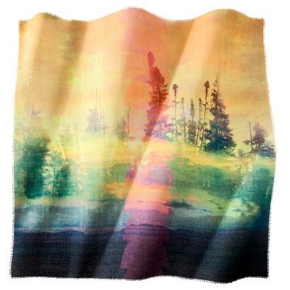 Mossimo Supply Co. Tree Print Scarf - Multicolored