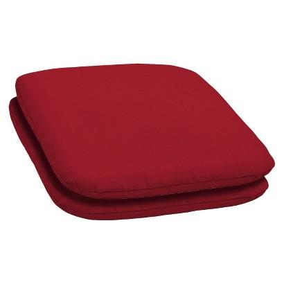 Room Essentials™ 2-Piece Seat Pad Set - Red