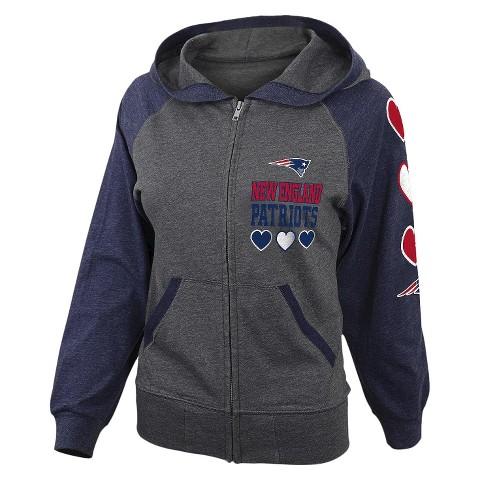 New England Patriots Girls Sweatshirt