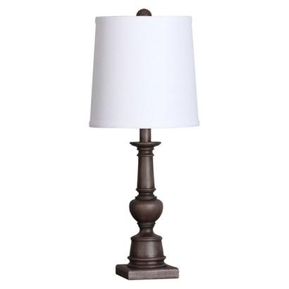 threshold turned wood table lamp target. Black Bedroom Furniture Sets. Home Design Ideas