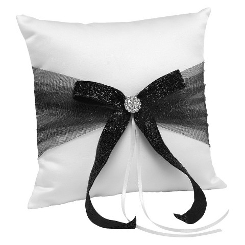 Belle Dreams Come True Satin Ring Bearer  Pillow