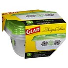 Glad Designer Series Containers Tall Entree 3 ct