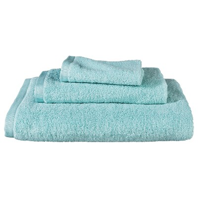 Room Essentials™ Fast Dry 3pc Towel Set - Seafoam Green