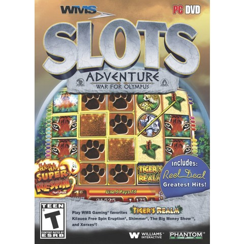 WMS Slots Adventure War for Olympus (PC Games)