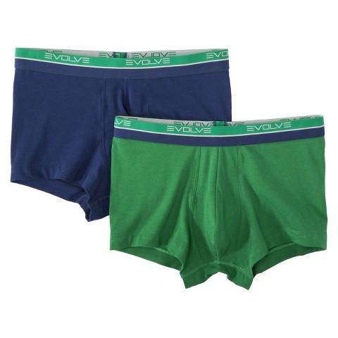 Evolve® Men's 2pk Trunks - Assorted Colors
