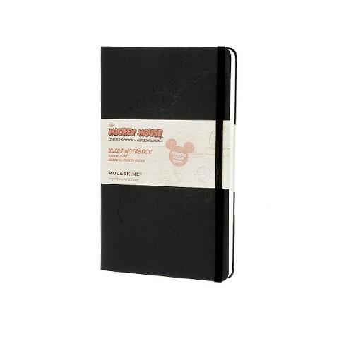 Moleskine Mickey Mouse Plain Notebook Large (Limited) (Mixed media product)