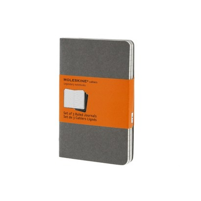 Moleskine Ruled Cahier Journal (Notebook / blank book)