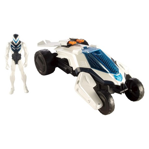 Max Steel Transforming Dune Jet Vehicle and Figure